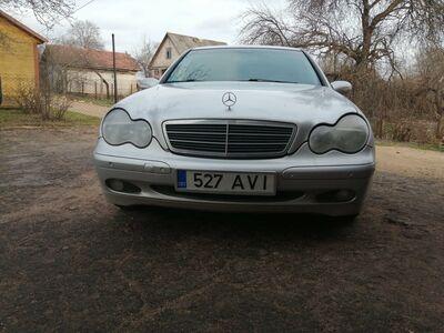 Mercedes Benz W203 C220CDI JÄRELMAKSU VÕIMALUS!