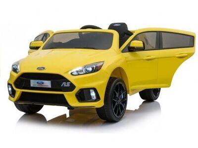 Uus laste elektriauto Ford Focus RS kollane