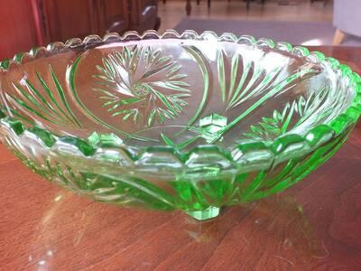 Roheline klaasist alus