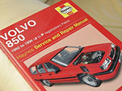 Volvo 850 Haynes'i teenindus- ja remondikataloog