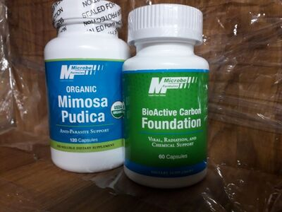 Mimosa Pudica, Bioactive Carbon Foundation