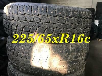 Naastrehvid kaubikule 225/ 65x R16c Kumho 2 tk