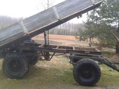 Traktori järelhaagis