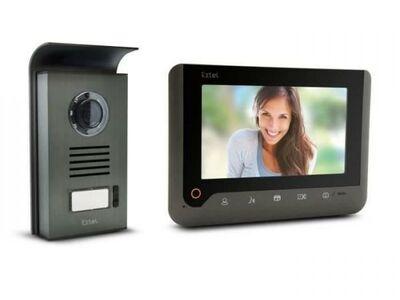 Videofonolukk, uksekell Extel 720287 LCD 18cm uus