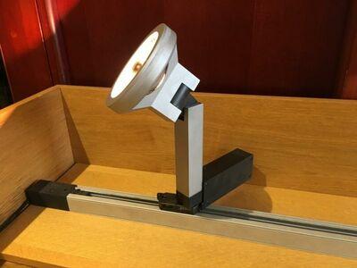Siinivalgusti Antares QR111 100w
