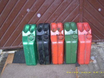 Kütuse kanistrid 20l