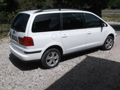 SEAT  ALHAMBRA 1,9 85kw NELIKVEDU 2007a.