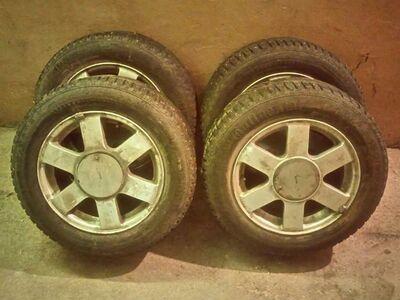 195/65 R15 Continental talverehvid velgedel 5*112