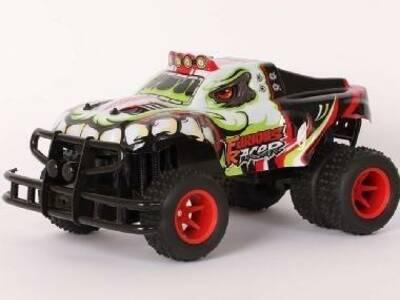 Puldiga juhitav mänguauto Furious Racer XT 42cm