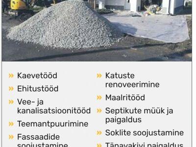 Kaevetööd ja Ehitustööd, Pärnu ja Raplamaal