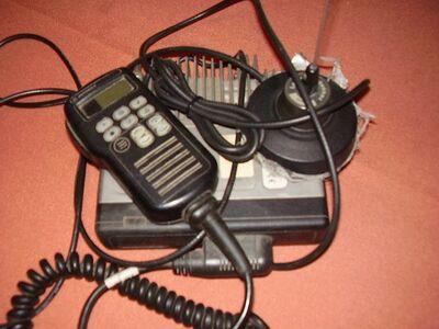 Raadiojaam MOTOROLA ja magnet antenn