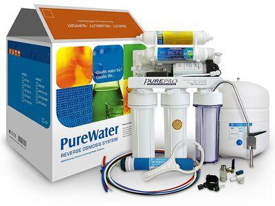 Vee puhastussüsteem PurePRO, veefilter