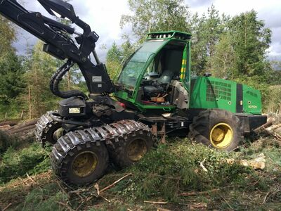 Harvesteri operaator