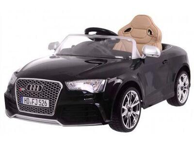Audi rs5 laste elektriauto must lakitud
