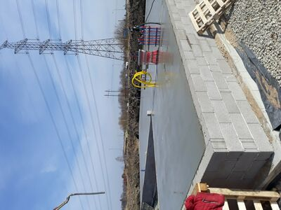 Vee ja kanalisatsioonitrassid, maakaabli paigaldus