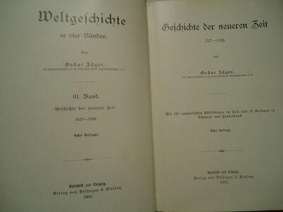 Vanad ajaloo raamatud