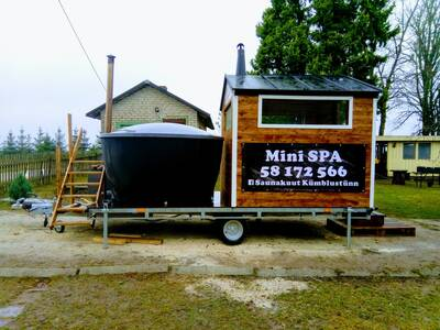 Mini spa ,saun+kümblustünn