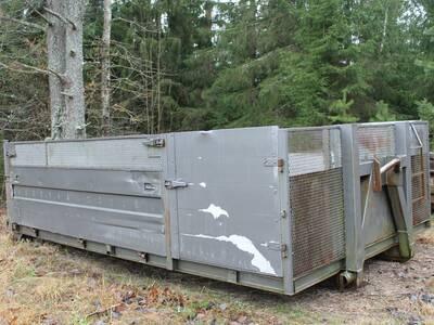Konkslift - multilifti konteineri rent