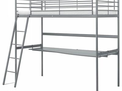 Ikea kõrge narivoodi arvutilauaga