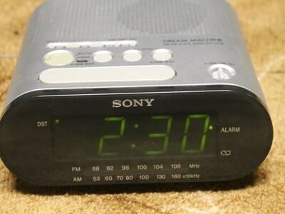 Kell/Raadio/alarm Sony