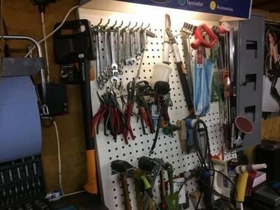 Stend tööriistadele