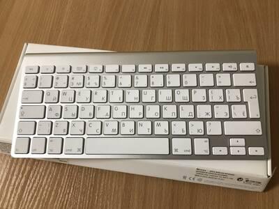 Apple klaviatuur, bluetooth