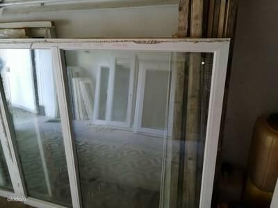 PVC Aken 2-kordse klaaspakett