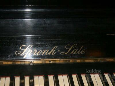 Klaver(pianiino) Sprenk Läte
