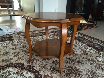 Väike ümmargune lauake Selva, 50x50 cm