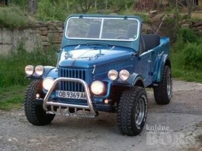 GAZ 69 / UAZ 469 Tagasild ja kütusepaak