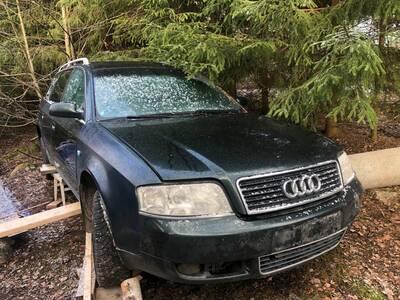 Audi A6 2,4 bensiin 2000a