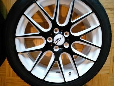 "Rattad 18"" (uued valuveljed + Dunlop rehvid)"