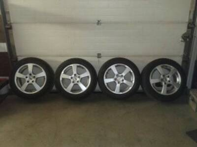 Valuveljed 16 5x112 Michelin lamell 205/55/16