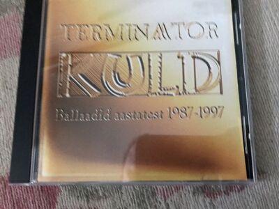 "Terminaator cd-plaat ""Kuld"""