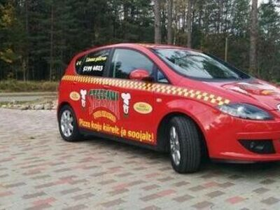 Pizzatakso juht Pärnus (Steffani Pizzatakso)