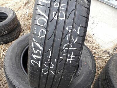 215/60/R17 Bridgestone suverehvid 4tk