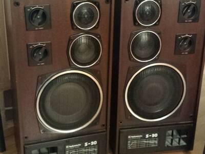 Kõlarid Radiotehnika S90 korralikud.
