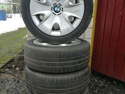 BMW 1 Seeria 16 tolli Veljed, ilukilbid, Rehvid