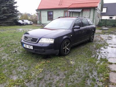 Audi A6 2,5 tdi 110kW, Quattro 6 - ne manuaal