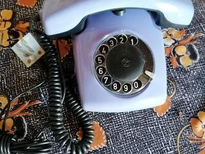Retro nõukaaegne lauatelefon