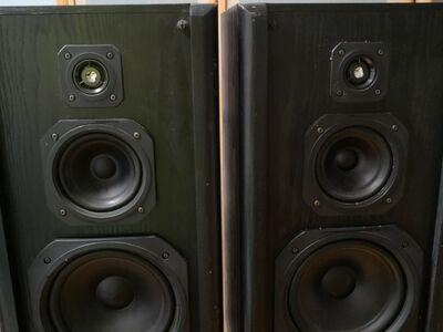 Radiotehnika kõlarid 125 W