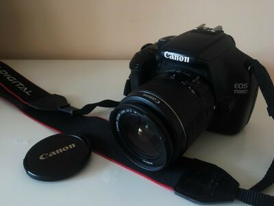 Canon EOS 1100D + 18-55mm IS II Kit