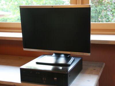 Kompaktne lauaarvuti+22 tolline monitor