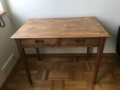 Korrastatud vana laud / EW aegne talulaud