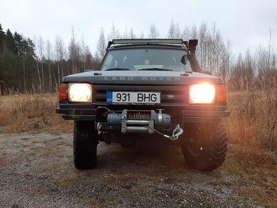 Suutlik maastur Land Rover Discovery