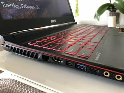 Läpakas, sülearvuti MSI GTX1060 grnt kuni 09.22