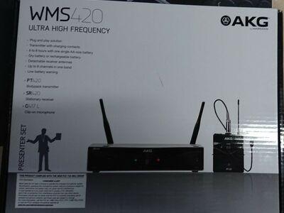 Mikrofon AKG - WMS 420 Presenter Set