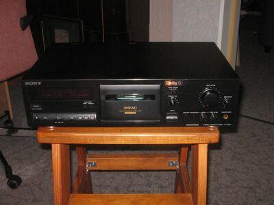 Sony stereo kassett deck TC-K511S .