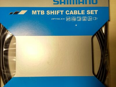 Shimano MTB Shift Cable Set, Optislick - uus!
