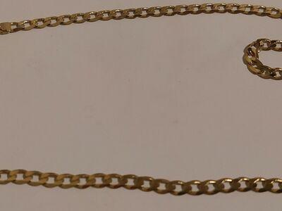 KULDKETT, PROOV 585, 50 CM, KAAL 11.41 G